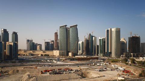 Doha, Qatar, Middle east Footage