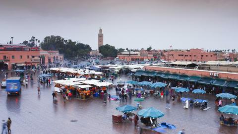 Marrakesh, Morocco Footage