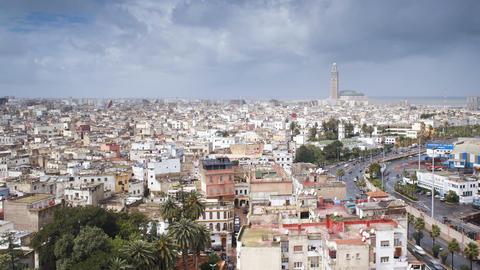 Casablanca, Morocco stock footage