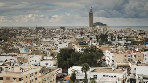 Casablanca, Morocco Footage