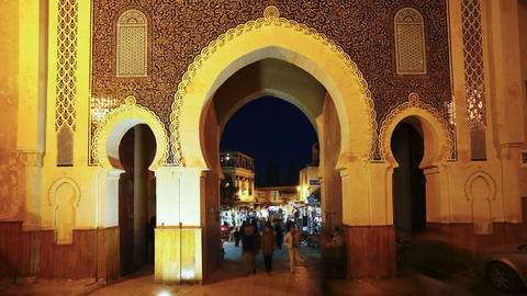 Fez, Morocco Footage