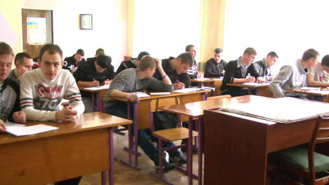 Students in Classroom 1 Footage
