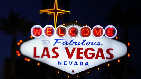 Las Vegas, Nevada, United States Of America stock footage