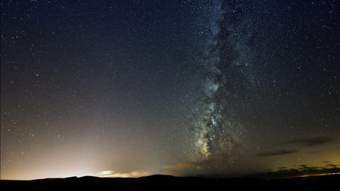 4k UHD milky way galaxy stars time lapse 11317 Footage