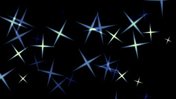 Stars abstract background Animation