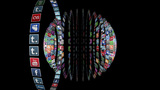 Social Network Icons animation black Animation