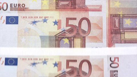 Printing Euros Footage