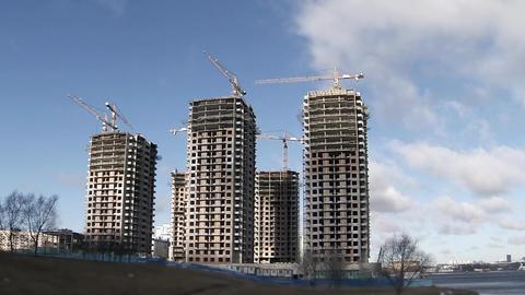building skyscrapers Footage