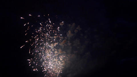celebratory fireworks Footage