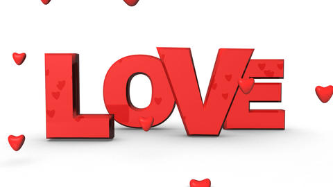 Love Hearts Animation