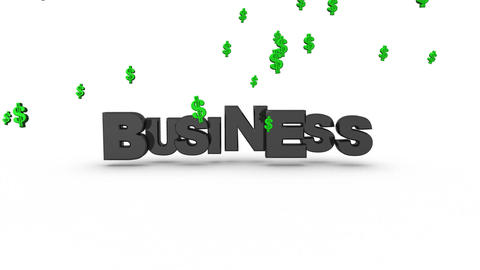 Business Dollar Signs Animation