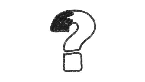 Graphite Question Mark, Stock Animation