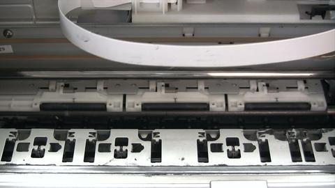 Computer Printer - Time Lapse Footage