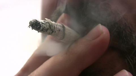 Smoking Addiction Footage