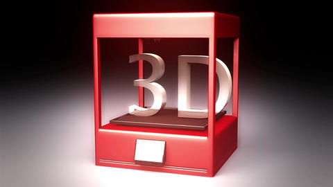 4K 3D Printer 6 Animation