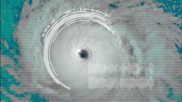 Hurricane Eye Footage