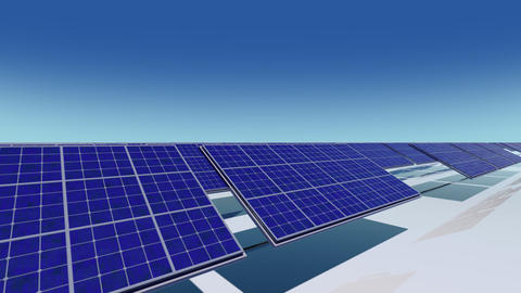 Solar Panel Ca HD Stock Video Footage