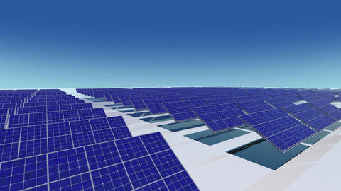 Solar Panel Ca HD Animation