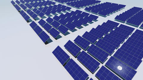 Solar Panel Cc HD stock footage
