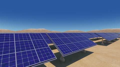 Solar Panel Sa HD Animation