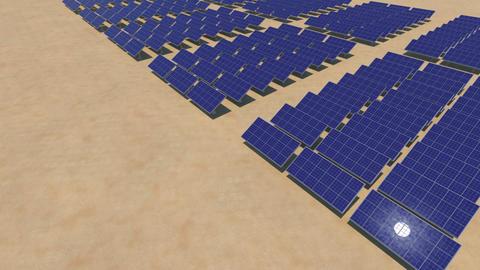 Solar Panel Sc HD Stock Video Footage