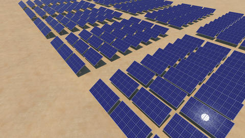 Solar Panel Sc HD Animation