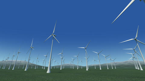 Wind Turbine Gc HD Animation
