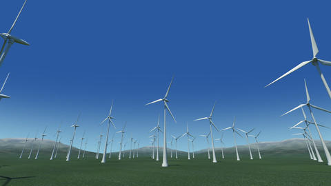 Wind Turbine Gc HD Stock Video Footage