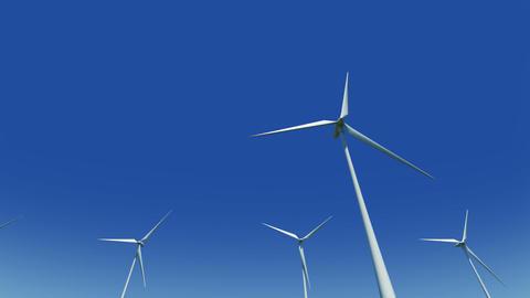 Wind Turbine Ge HD Stock Video Footage