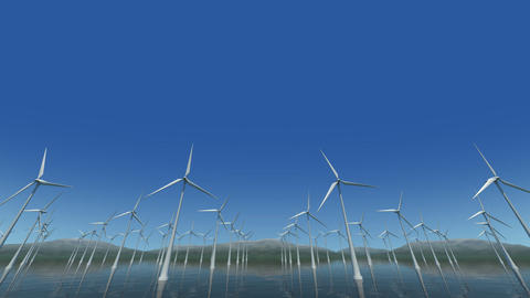 Wind Turbine Sf HD Stock Video Footage