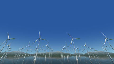 Wind Turbine Sf HD Stock Video Footage