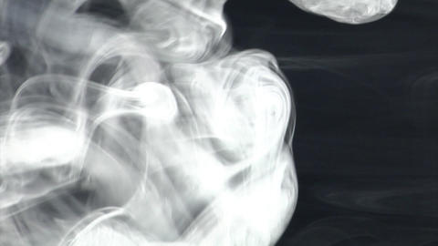 smoke series: blast and ring smoke Stock Video Footage