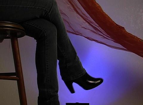 Beautiful Female Legs 2 Stock Video Footage