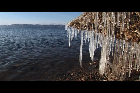 Water and ice 2 Footage