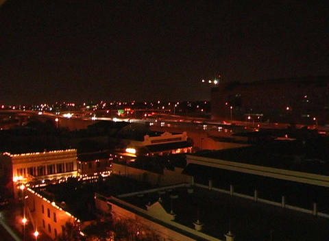 City at Night (1) Stock Video Footage