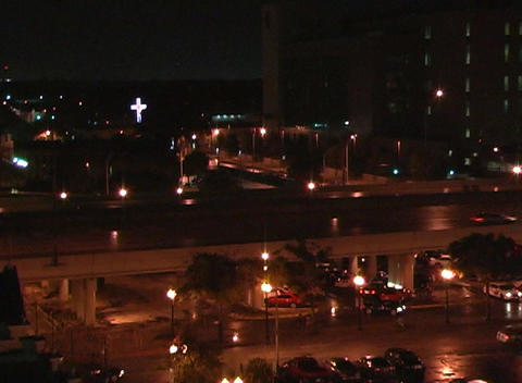 City at Night (3) Stock Video Footage