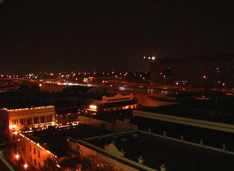 City at Night, Time Lapse (1) Stock Video Footage
