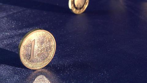 dollar to euro speedramp Stock Video Footage