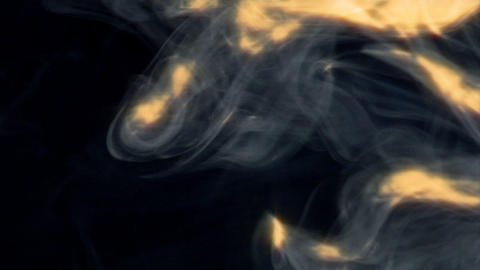 lot of smoke and blast Stock Video Footage