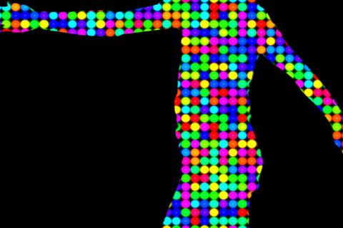 silhouette01 動画素材, ムービー映像素材