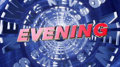 Series News opener - evening Animación