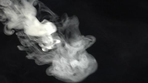 smoke series: side Smoke blast Footage