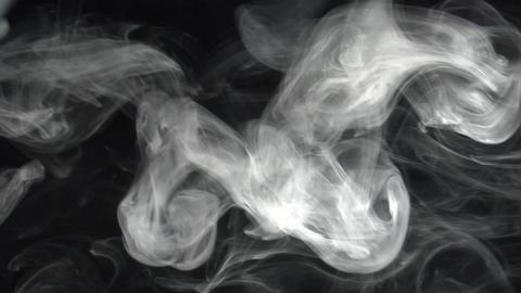 smoke series: slow diagonal Smoke wipe Stock Video Footage