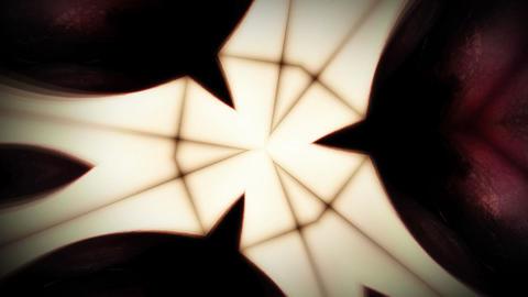 Kaleidoscopic waves Stock Video Footage