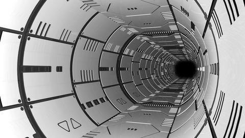 Spaceship passage1 Stock Video Footage
