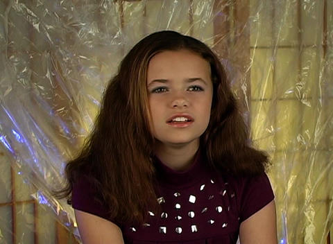 Beautiful, Happy Adolescent Girl Stock Video Footage