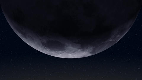 Moon Shadow (24fps) Stock Video Footage