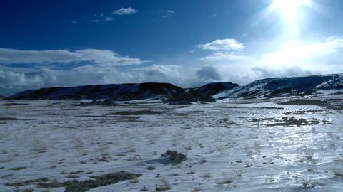 Snow mountains Stock Video Footage