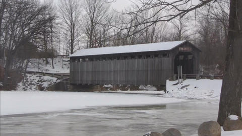 Covered bridge7 Footage