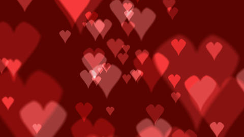 heart background 02 Stock Video Footage